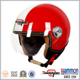 Красивейшие мотоцикл стороны ECE открытые/мотовелосипед/повелительница Шлем Harley (OP228)