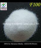 白い吹きかけられた屑の白い溶かされたアルミナF46を乾燥しなさい