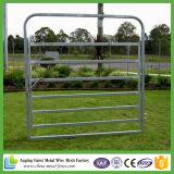Sistema da jarda do gado de porta galvanizada economia no frame