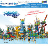 Parques aquáticos Baby Water Castle Funny Games Playgrounds (HD-6101)
