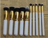 Professionnel 10PCS Set Face et Eye Cosmetic Makeup Brush