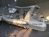 Barca materiale di velocità del crogiolo di PVC del peschereccio di Liya 17ft