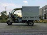 Triciclo da caixa para a entrega com cabine dianteira