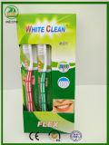 2017 Jahr Nigerial heiße Verkaufs-harte Borste-Erwachsen-Zahnbürste