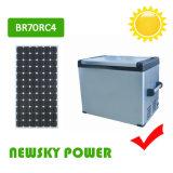 congelador solar portátil marinho do refrigerador da C.C. 12V