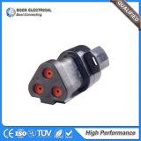 Auto sensor de pressão de petróleo Dt06-3s-E004 do conjunto de chicote de fios 3p do fio