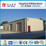 2016 горячих гальванизированных сараев хранения стальной структуры полуфабрикат