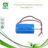 18650 bloco da bateria do Li-íon do OEM de 7.4V 3400mAh 2s1p