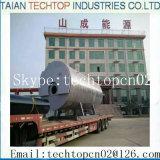 産業オイルガスの蒸気および熱湯ボイラー(WNS0.5-20T/H)