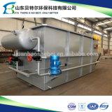 Pequeña unidad de la DAF usada para el tratamiento de aguas residuales aceitoso de la lechería