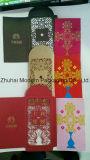 Bolsos creativos personalizados do vermelho do cartão de /Wedding do pacote do dinheiro de China do corte do laser do projeto