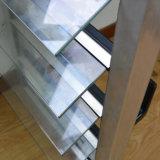 Guichet en verre en aluminium Kz170 d'obturateur
