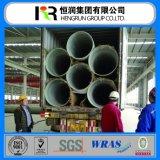 Verstärktes Plastikrohr des mörtel-Rohr-GRP FRP mit Wras/ISO 14001 Bescheinigung