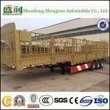 Delle merci di trasporto del palo del carico rimorchio in serie semi