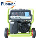 Gerador portátil 5kVA da gasolina da potência de FC6500e