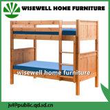 Mobília de cama de madeira de madeira de pinho em tamanho único (WB-5034)