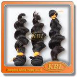 Cheveux humains indiens de Remy de Kbl (KBL-IH-LW)