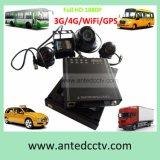 手段のトラックバス車の艦隊CCTVの監視サーベイランス制度のための3G/4G GPS WiFi Mdvr