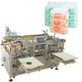 Empaquetadora de los tejidos faciales para docena prensas pila de discos de la servilleta de papel