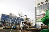 Edifício da construção de aço para o edifício comercial metálico