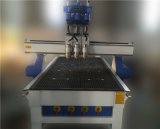 Machine de gravure du bois de processus de la Chine FM-1325 trois de Jinan