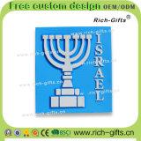 カスタマイズされた装飾の昇進のギフトのシリコーン冷却装置磁石の記念品エルサレム(RC-IL)
