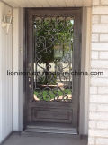 Luxury Handmade Wrought Iron Front Doors Double Entry Single Door