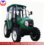 Cabin (TT604)를 가진 셔틀 Shift 60HP Farm Tractor 4WD