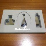Rectángulo de regalo de papel cosmético del embalaje de la alta calidad con la bandeja de EVA