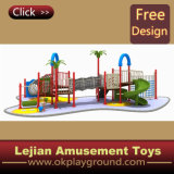 CE 2014 Été le plus chaud en plein air pour enfants en plastique Playground (X1227-1)