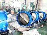 Dn1000 Pn16 Qt450 변속기 액추에이터 플랜지 나비 벨브