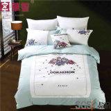 60s綿の刺繍4PCSの寝具セット