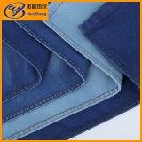 Telas azuis da sarja de Nimes das calças de brim de rayon do poliéster do algodão do enxôfre