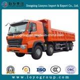 Sinotruk HOWO-A7 371HP 8X4 30m3鉱山のダンプトラック