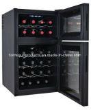 thermoelektrische Wein-Kühlvorrichtung der Tür-24bottles zwei