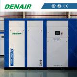 Compresseur d'air lubrifié de vis d'entraînement direct pour l'industrie du bâtiment