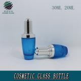 Капельница давления масла лосьона сливк стеклянного глаза дух высокого качества косметической ясной покрашенная таможней пустая разливает оптовое 20ml по бутылкам 30ml