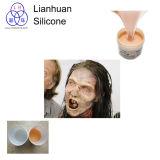 Flüssiger Gummi des Silikon-RTV-2 für den Spezialeffekt, der in den Filmen bildet