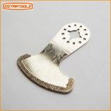 2-1/2 po. L'outil multi de lame de coulis de diamant scie la lame