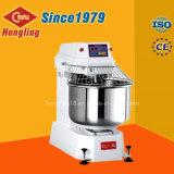 Mezclador espiral de lujo del mezclador de pasta 25kg 80L para el pan