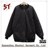 Пальто куртки способа высокого качества изготовленный на заказ с застежкой -молнией, куртками бейсбола
