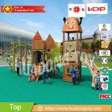 屋外の子供の運動場装置木シリーズのHD16-168A