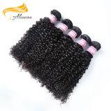 長続きがする加工されていなく最もよい品質のブラジルの人間のバージンの毛