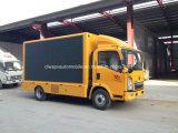 HOWO LED 스크린 전시를 가진 트럭 5 톤 옥외 광고