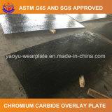 Placa dura del desgaste del recubrimiento del carburo del cromo