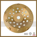 7 인치 180mm 구체적인 Expoxy 지면 긁는 도구 PCD 다이아몬드 컵 바퀴