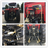 maquinaria 180HP agricultural grande/exploração agrícola/gramado/jardim/estojo compato/Constraction/trator Diesel da exploração agrícola/de cultivo