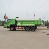 Тележка сброса Sinotruk HOWO 6X4 сверхмощная с зеленым цветом
