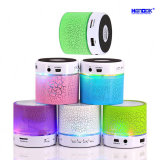 Altoparlante senza fili portatile di Bluetooth LED FM di colore chiaro di notte mini