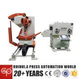 Máquina del alimentador de la enderezadora del Nc Decoiler que endereza el material de acero (MAC2-500)